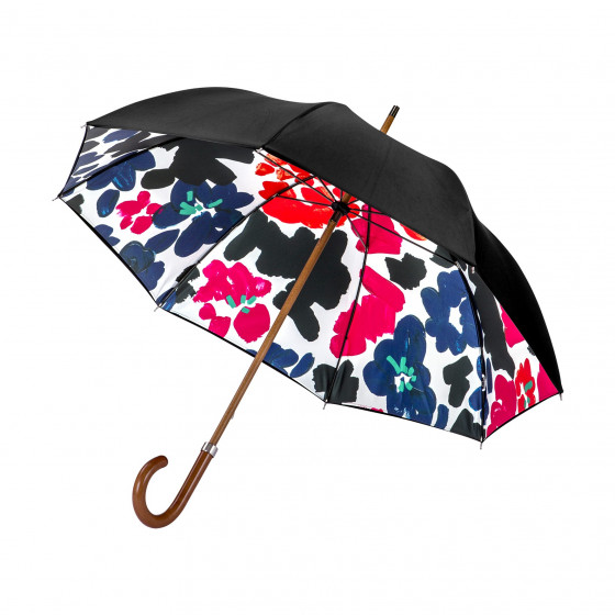 Piganiol Parapluie Doublé pour femme Abstract Flowers