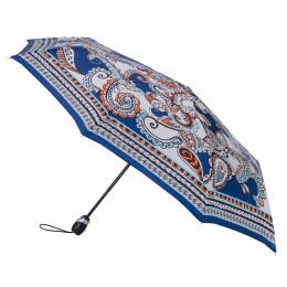 Parapluie Pliant Piganiol Paisley bleu