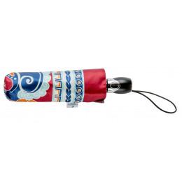 Parapluie Pliant Piganiol Paisley rouge