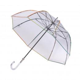 Parapluie Transparent  cloche Acerola