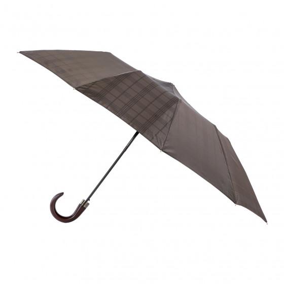 Parapluie Homme Prince de Galles pliant médium automatique 10 baleines