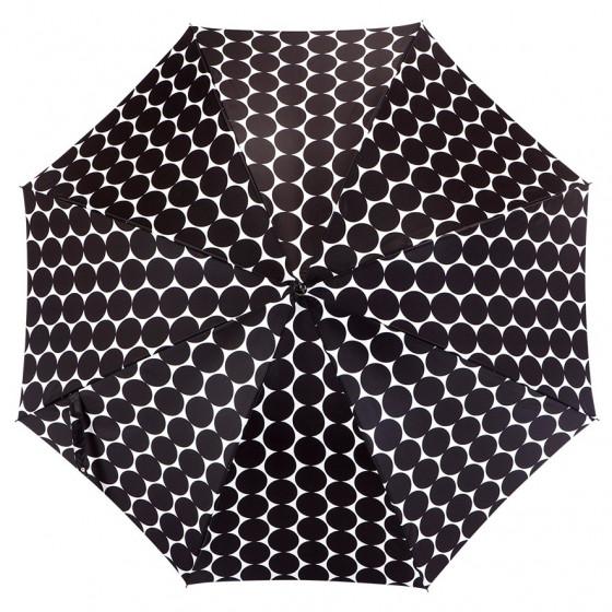 Parapluie Piganiol Imprimé  à pois  droit automatique