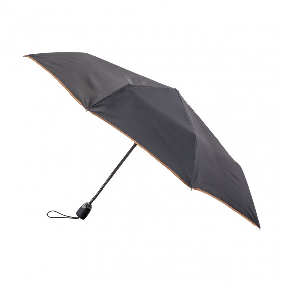 Parapluie Pliant Noir Finition Couture