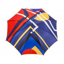 Parapluie Droit Color Block