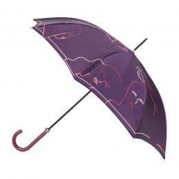 Parapluie Femme Silhouette
