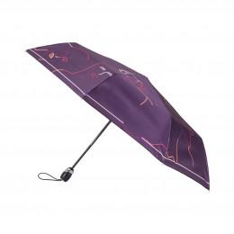 Parapluie Pliant Femme Silhouette