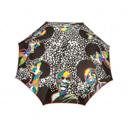 Parapluie droit  Femme Métissée
