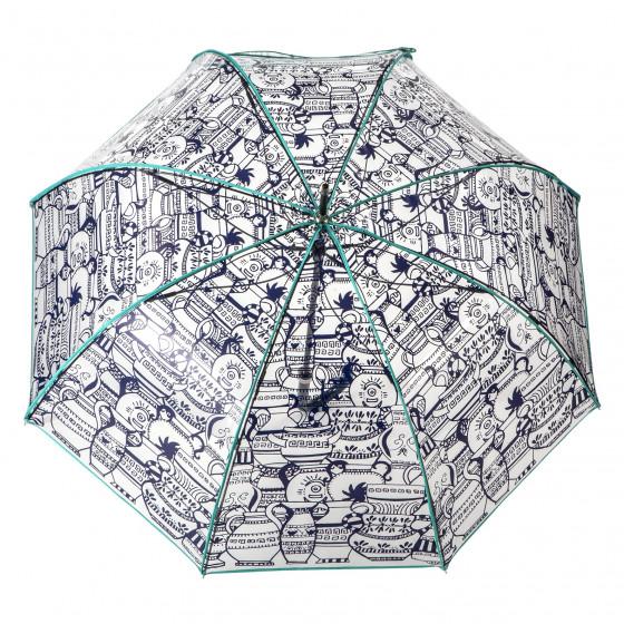 Parapluie Femme transparent cloche Samarra
