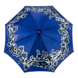 Parapluie Floral Arty Bleu droit ville