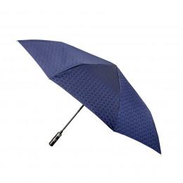 Mini-Parapluie pliant pour Homme Cubique automatique poignée bois droite