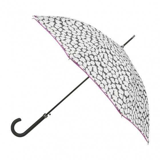 Parapluie Droit Daisy + biais violine