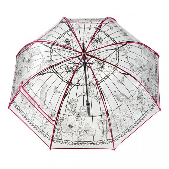 Parapluie Femme transparent cloche Idylle