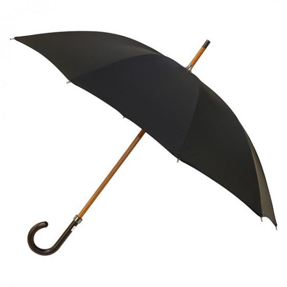 parapluie homme noir droit manuel piganiol. Black Bedroom Furniture Sets. Home Design Ideas