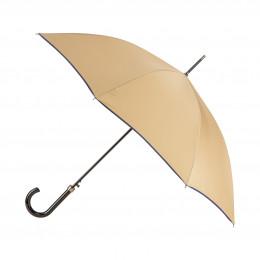 Parapluie Femme Beige Finition Couture
