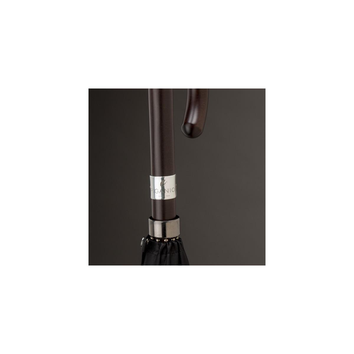 parapluie homme noir droit automatique piganiol. Black Bedroom Furniture Sets. Home Design Ideas