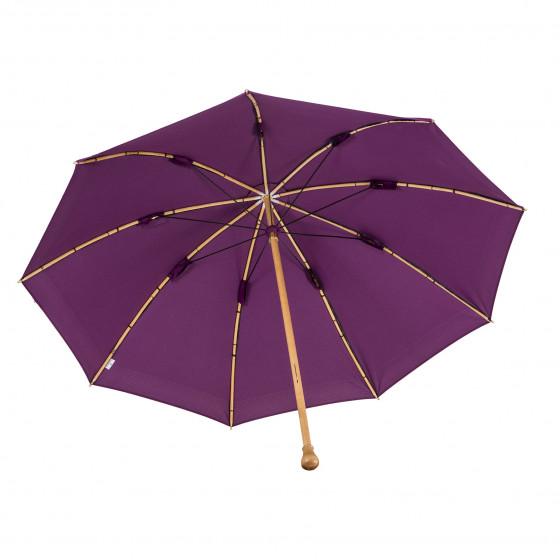 Fourreau en option sur le Parapluie de Berger Lie de Vin