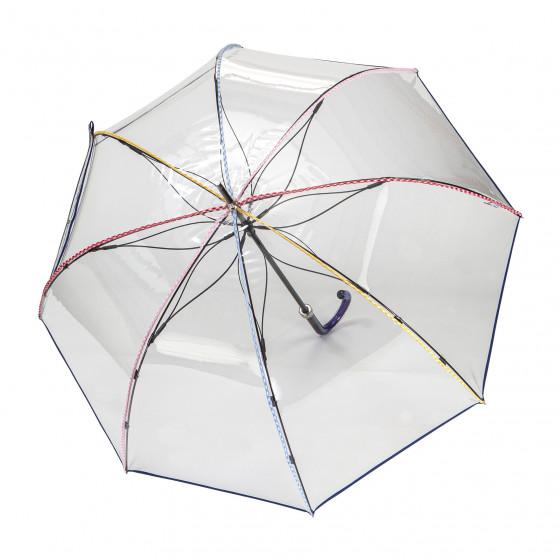 Parapluie Femme transparent cloche Plage