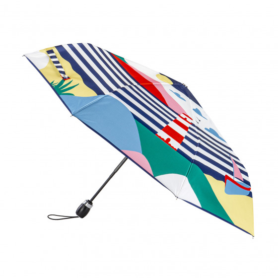 Parapluie Pliant Femme Carte Postale