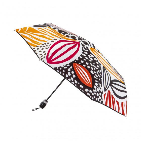 Parapluie Pliant Femme Or Noir
