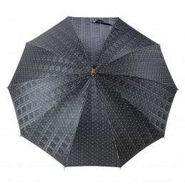 Parapluie noir pour Homme Charles Piganiol