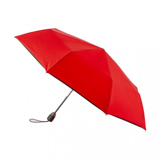 Parapluie Pliant Rouge Finition Couture