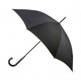Parapluie Femme Noir  Finition beige