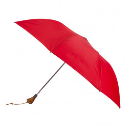 Parapluie de Golf pliant automatique rouge
