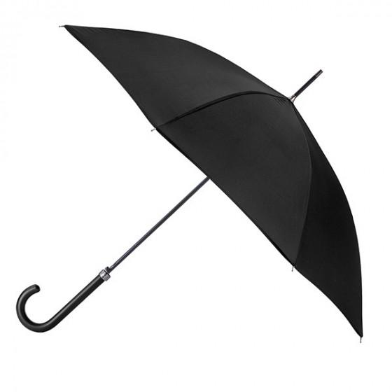 Parapluie Essentiel Uni Noir droit automatique