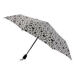 Parapluie Essentiel Imprimé Femme Fauve Peau de Bête pliant mini-automatique