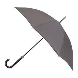 Parapluie Essentiel Uni Anthracite + Biais Marine droit automatique