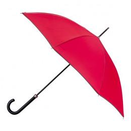 Parapluie Essentiel Uni Garance + Biais Marron droit automatique