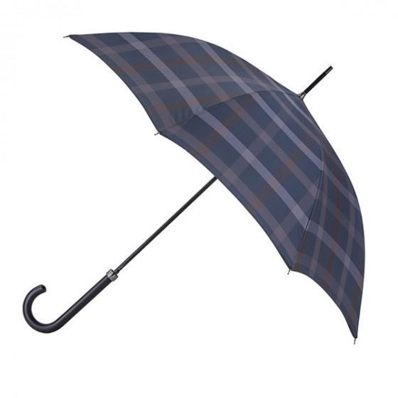 Parapluie Essentiel Imprimé Homme Scottish Carreaux droit automatique