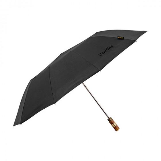 parapluie pliant noir l 39 aurillac parapluie noir pour homme piganiol. Black Bedroom Furniture Sets. Home Design Ideas