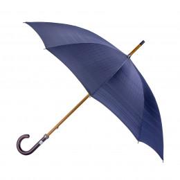 Parapluie Homme bleu modèle Andrew Maison Piganiol