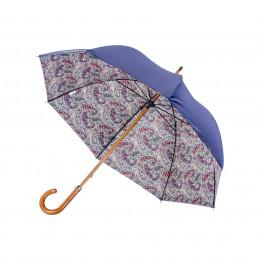 Parapluie Droit Doublé Cachemire